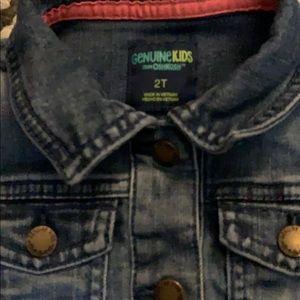 OshKosh B'gosh Jackets & Coats - 5 for $25.  Oshkosh Denim Jacket-Toddler Girl 2T